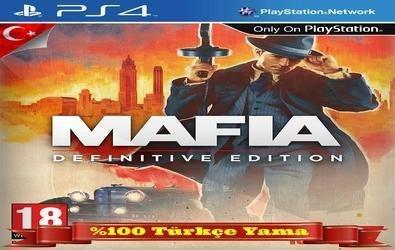 Mafia Definitive Edition PS4 Türkçe Yama İndir (ÇIKTI)