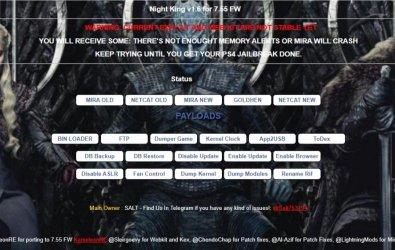 PS4 Kırma 7.55 GOLDHEN OFFLINE Yayımlandı