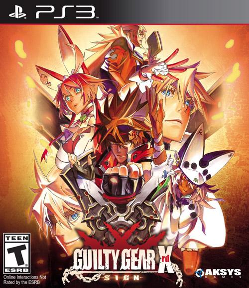 PS3 Guilty Gear Xrd Sign
