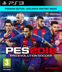 PS3 PES 2018 Demo Çıktı