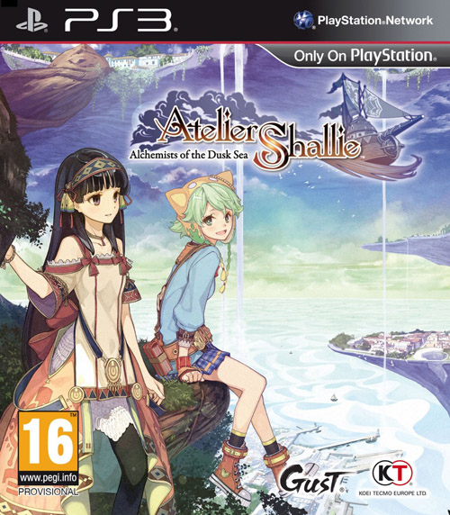 PS3 Atelier Shallie: Alchemists of the Dusk Sea