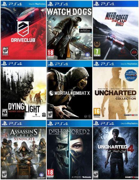 PS4 4.05 Oyun İndir Bütün Oyunlar ve Liinkleri Burada