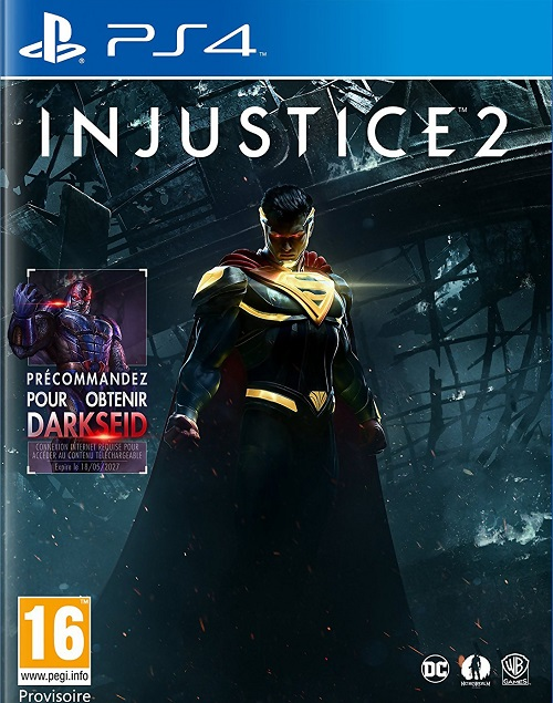 PS4 Injustice 2 PKG Oyun Çıktı