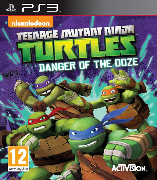 PS3 Teenage Mutant Ninja Turtles: Danger of the Ooze Oyun ��kt�