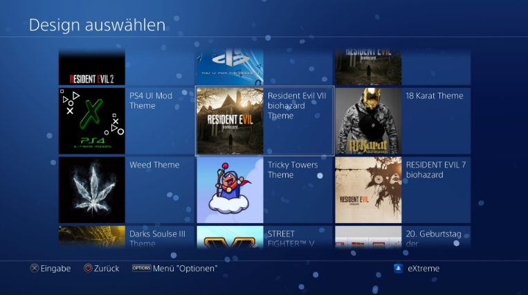 PS4 THEME Paketi Fake Packages