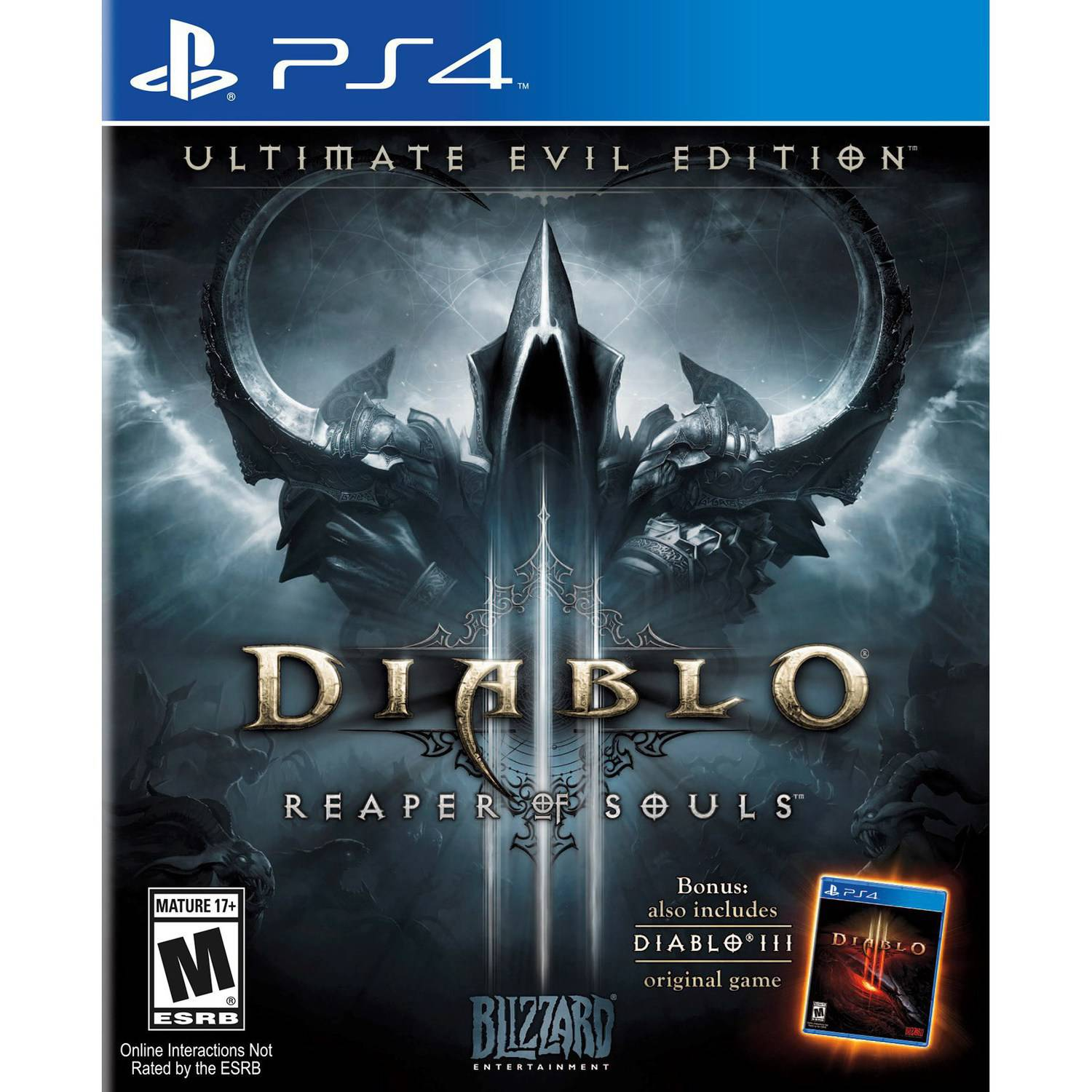 PS4 Diablo III: Reaper of Souls Ultimate Edition FULL PKG Oyun İndir