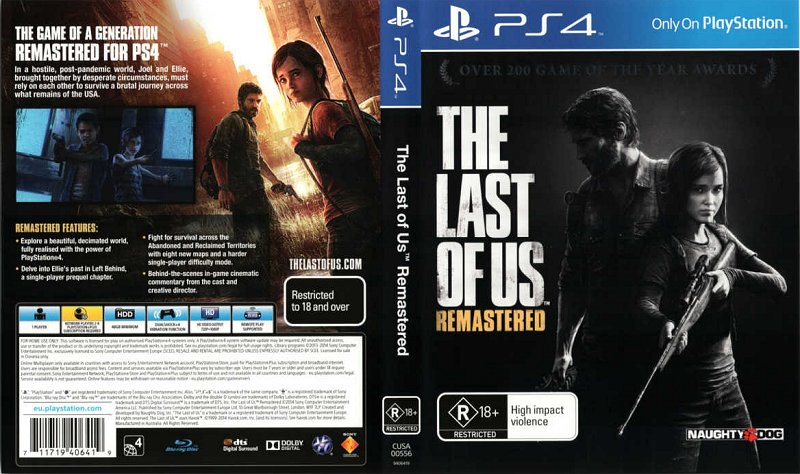 PS4 The Last Of Us Remastered FULL PKG Oyun İndir