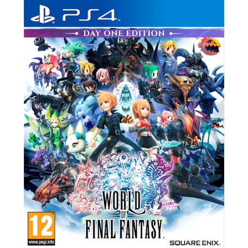 PS4 World of Final Fantasy FULL PKG Oyun İndir