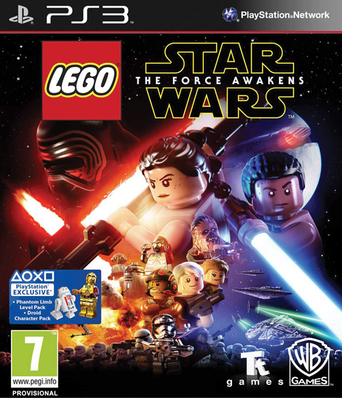 LEGO Star Wars: The Force Awaken PS3