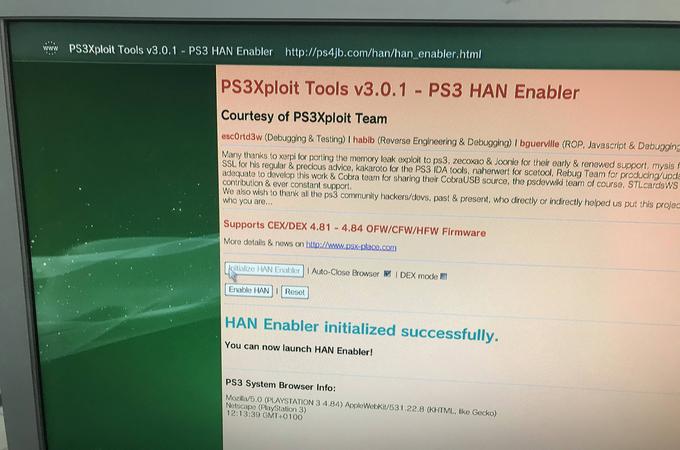 PS3 HAN OFW - PS3 HEN Yükleme Rehberi - Bütün PS3 Modellerini Kırma