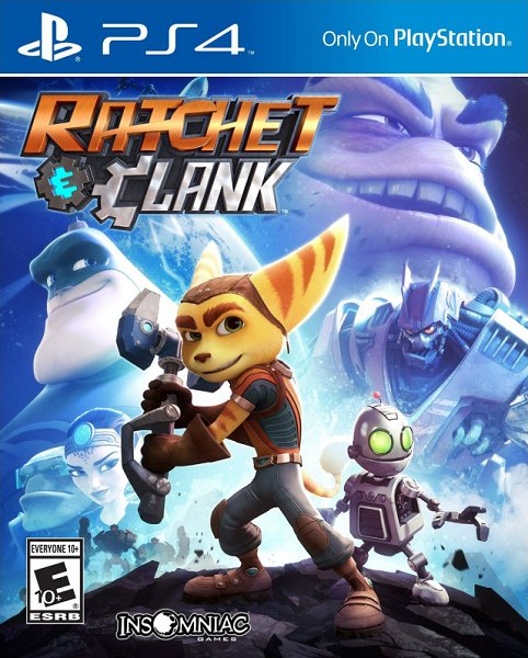 PS4 Ratchet and Clank FULL PKG Oyun İndir