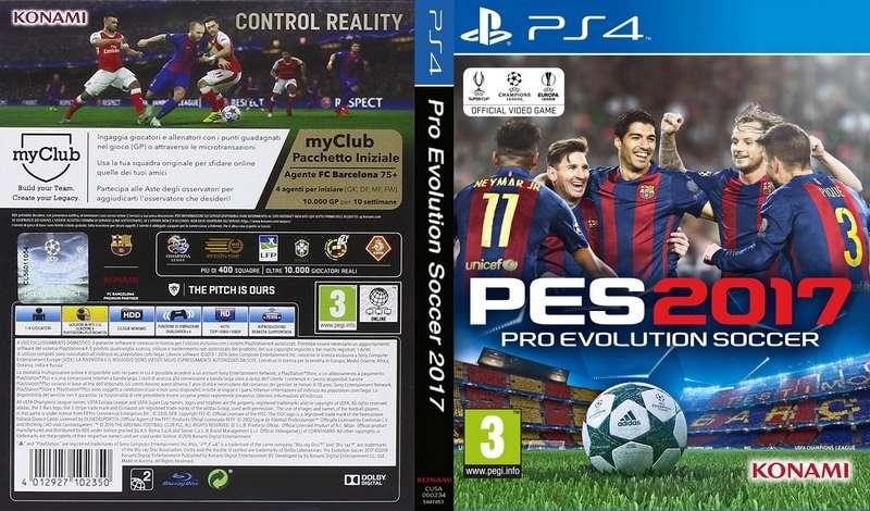 PS4 PES 2017 PKG FULL Oyun İndir