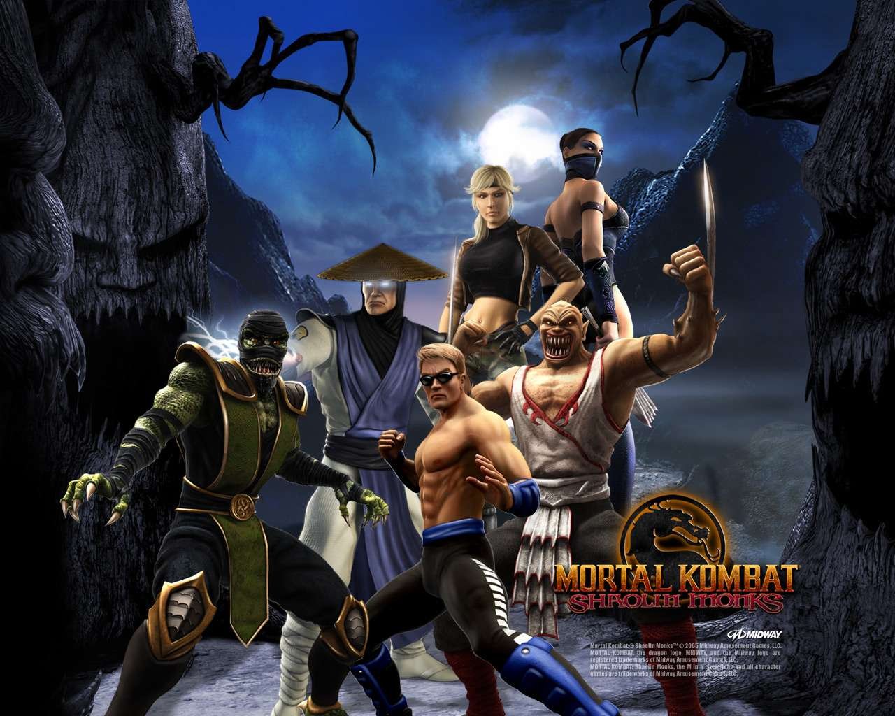PS4 Mortal Kombat Shaolin Monks Ps2 to PS4