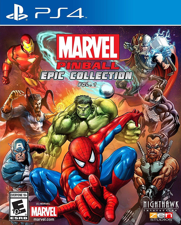 PS4 Marvel Pinball Oyunu İndir